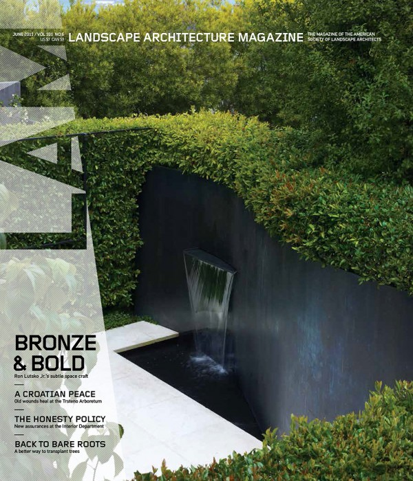Landscape Architecture Magazine | June 2015