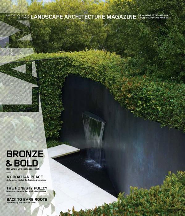 Landscape Architecture Magazine | June 2015